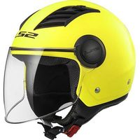 Kaski motocyklowe, KASK LS2 OF562 AIRFLOW L SOLID MATT H-V YELLOW