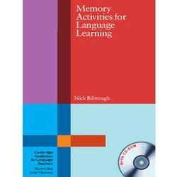 Memory Activities For Language Learning With CD-ROM Cambridge Handbooks For Language Teachers (opr. miękka)