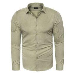 Koszula męska długi rękaw C.S.S 275 - zielona
