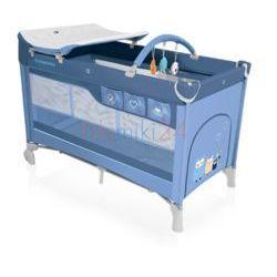 BABY DESIGN łóżeczko turystyczne DREAM NEW 03 NIEBIESKIE