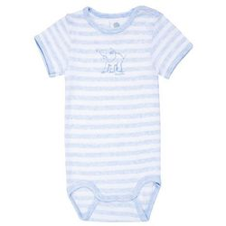 Sanetta 1/2 STRIPED PRINT WILD ONE BABY BOYS Body bleu melange