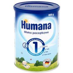HUMANA 1 800g Mleko początkowe Od urodzenia