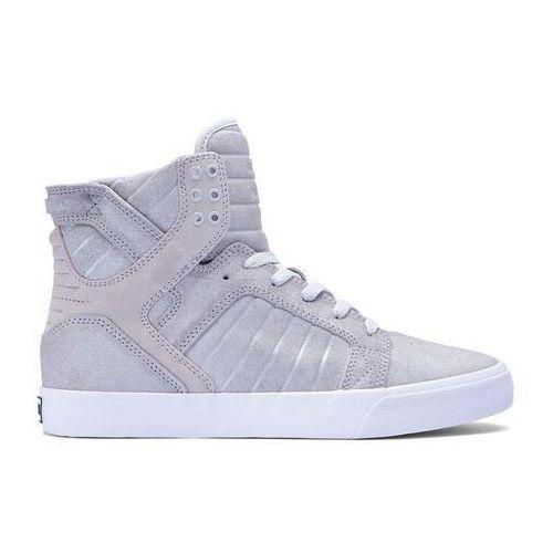 Męskie obuwie sportowe, buty SUPRA - Skytop Silver (SVR) rozmiar: 45.5