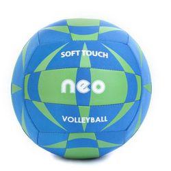 Piłka siatkowa Spokey Neo Soft neoprenowa niebiesko - zielona
