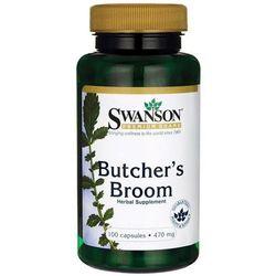 Swanson Butcher's Broom (Ruszczyk kolczasty) 470mg - (100 kap)