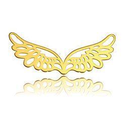 Zawieszka / łącznik Skrzydła, złoto próba 585 BL 43-AU