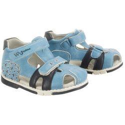 WOJTYŁKO 1S1099 niebieski, sandały dziecięce, rozmiary: 20-23 - Niebieski