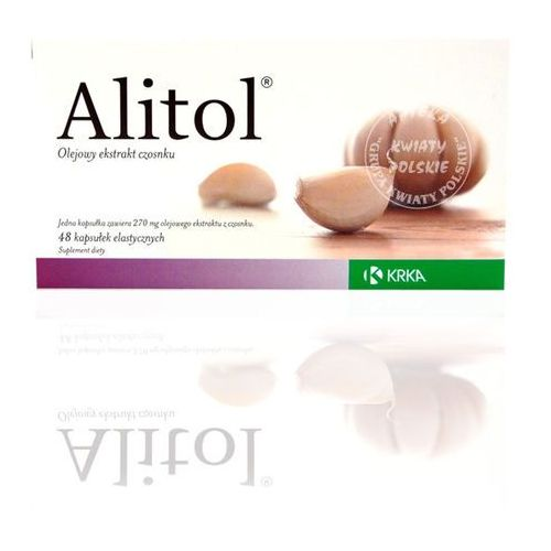 Witaminy i minerały, ALITOL 48 kapsułek