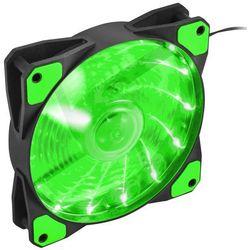 NATEC Wentylator do zasilacza/obudowy Genesis Hydrion 120 zielony LED