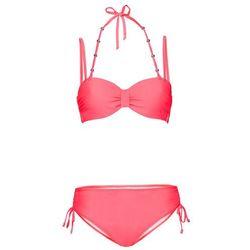 Bikini na fiszbinach (2 części) bonprix czerwony neonowy