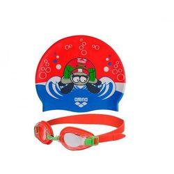 Zestaw do pływania Arena czepek + okulary martes m14 (-46%)