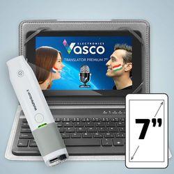 """Vasco Translator Premium 7"""" z klawiaturą i skanerem"""