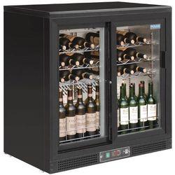 Chłodziarka na wino z drzwiami suwanymi   254L