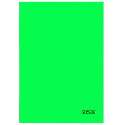 Zeszyty, Zeszyt B5 60k kratkę okładka folii PP HERLITZ - zielony