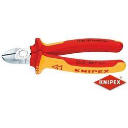 KNIPEX Obcinaczki boczne 125mm, dwukomponentowe, izolowane VDE (70 06 125)