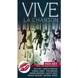VARIOUS ARTISTS - Vive La Chanson vol. I (4CD)