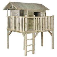 Domki i namioty dla dzieci, Domek dla dzieci JAKOB 195 x 242,5 x 280 cm SOBEX