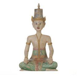 Dekoria Figura Muna postać siedzącego mężczyny 35x45x61cm -30%, 35x45x10cm