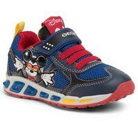 Półbuty i trzewiki dziecięce, Sneakersy GEOX - J Shuttle B. A J0294A 01454 C0735 M Navy/Red