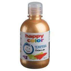 Farba tempera Premium 300 ml złota nr 11 - HAPPY COLOR
