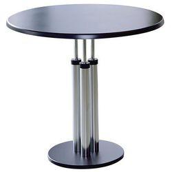 Stół bistro, blat stołu z topalitu, Ø 800 mm, wys. 750 mm. Blat stołu z łatwego