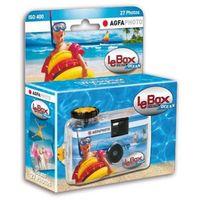 Aparaty analogowe, AGFAPHOTO LeBox Ocean aparat podwodny z filmem 27 klatek.