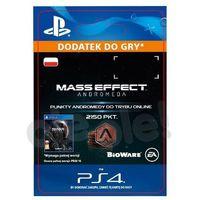 Pozostałe gry i konsole, Mass Effect Andromeda 2150 PKT [kod aktywacyjny]