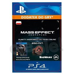 Mass Effect Andromeda 2150 PKT [kod aktywacyjny]