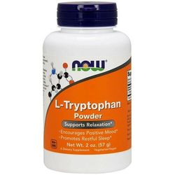 L-Tryptofan L-Tryptophan 500mg 60 kapsułek NOW FOODS