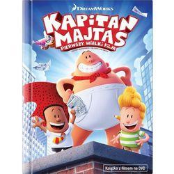 Kapitan Majtas: Pierwszy Wielki Film (Książka+DVD) - David Soren. DARMOWA DOSTAWA DO KIOSKU RUCHU OD 24,99ZŁ