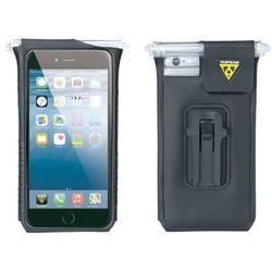 TOPEAK Smartphone Drybag for IPhone 6/6S/7 Black - Pokrowiec na telefon - Czarny