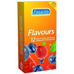 Owocowe prezerwatywy Pasante Flavours 12 szt.