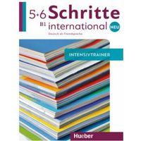 Książki do nauki języka, Schritte International Neu 5/6 Intensivtrainer +CD (opr. broszurowa)