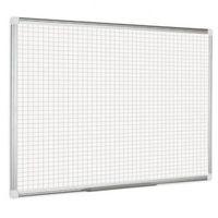 Tablice szkolne, Kratkowana tablica do pisania, kwadraty/raster, 120x90 cm