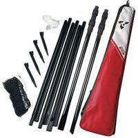 Badminton i speedminton, Siatka do badmintona z teleskopowymi słupkami TALBOT TORRO