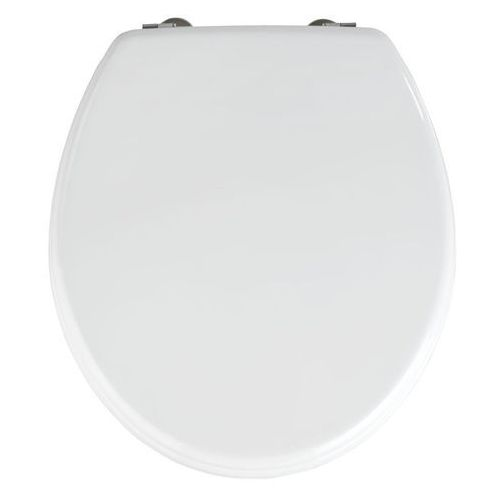 Deski i pokrywy do toalet, Deska sedesowa PRIMA - MDF, biała, WENKO