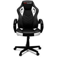 Fotele dla graczy, Fotel gamingowy PAGANI biały PRO-GAMER dla graczy