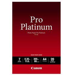Canon Papier Photo Pro Platinum PT-101 A4 300g/m2 20 szt