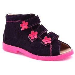 Buty profilaktyczne dla dzieci Dawid 1043 - Różowy   Śliwkowy