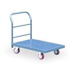 Stalowy wózek platformowy z nośnością 900 kg