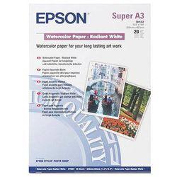 Epson C13S041352 WaterColor Paper - Radiant White, DIN A3+, 190 g/m2, 20 arkuszy