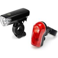 Oświetlenie rowerowe, Latarka Mactronic lampy rowerowe Falcon Eye DUO 50/8lm, bateryjna (3x AAA/2x AAA) 2xuchwyt L-FN3-1L.2