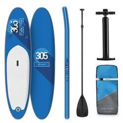 KLARFIT Spreestar deska pneumatyczna pompowana dmuchana SUP-Board 305x10x77 niebieska
