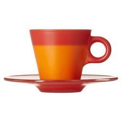 LO - Filiżanka espresso+spodek czerwona Ooh!Magico ODBIERZ RABAT 5% NA PIERWSZE ZAKUPY
