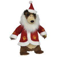 Pozostałe zabawki, SIMBA Masza i Niedźwiedź Świąteczny Misza, 43cm