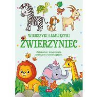 Książki dla dzieci, Wierszyki Łamijęzyki. Zwierzyniec (opr. miękka)