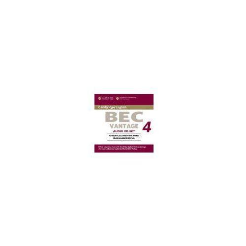 Książki do nauki języka, Cambridge BEC Vantage 4 Zestaw 2 Płyt Audio CD do Podręcznika