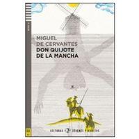 Książki do nauki języka, Lecturas ELI Jovenes y Adultos - Don Quijote de la Mancha + CD Audio (opr. miękka)