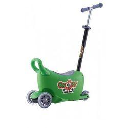 Jeździk SNOOP! 3w1 Zielony