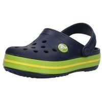 Sandały dziecięce, Crocs Buty otwarte 'Crocband' niebieska noc / zielony